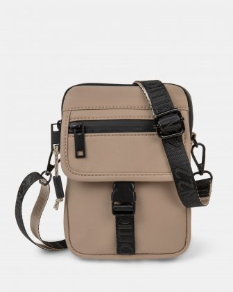 BUGATTI X EDITION22 - Crossbody that's both slim and functional, perfect for your small essentials items - Tan Bugatti