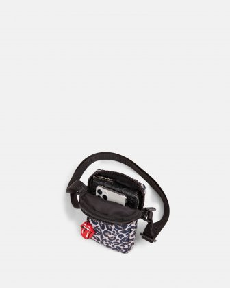 The Rolling Stones - Evolution Collection - Mobile Case Bag with adjustable crossbody strap - Cheetah The Rolling Stones