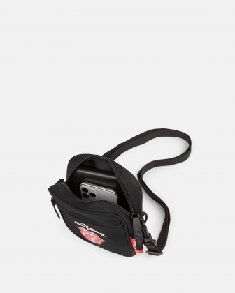 The Rolling Stones - The Core Collection - Small Crossbody bag with adjustable strap - Black The Rolling Stones