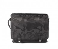 Brigade  printed nylon messenger bag Bugatti